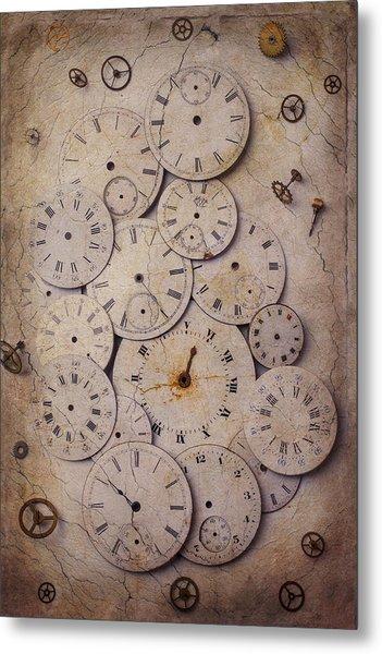 Time Forgotten Metal Print