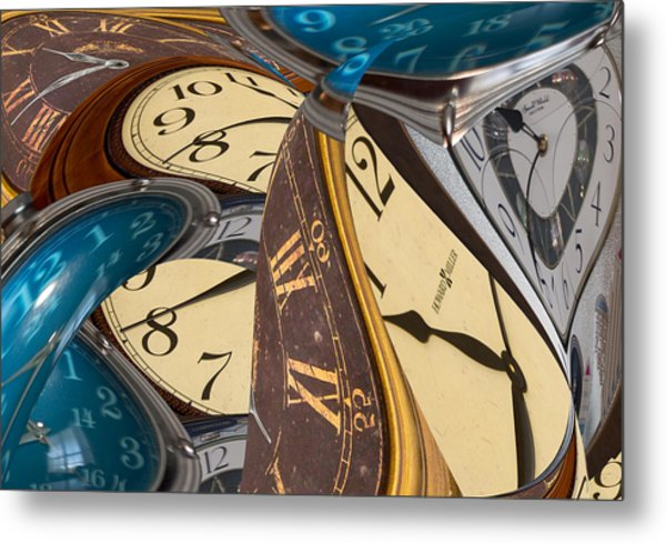 Time Further Out Metal Print