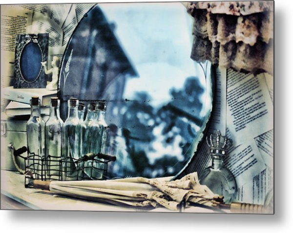Metal Print featuring the photograph Time Warp by Kristi Swift