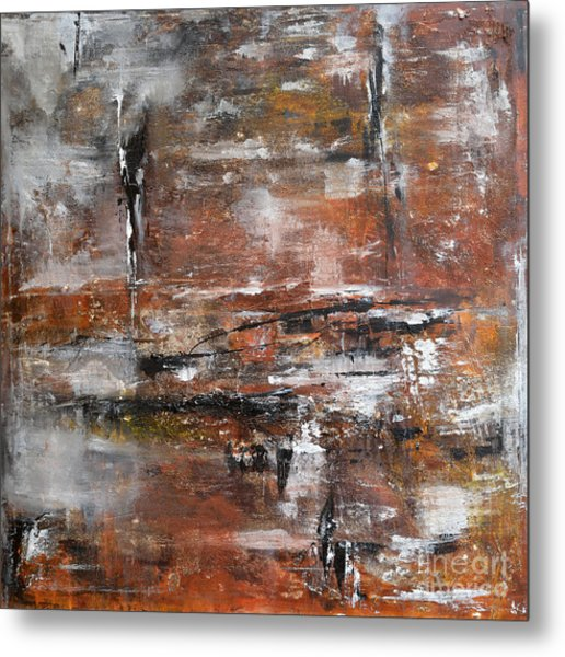 Timeless - Abstract Painting Metal Print