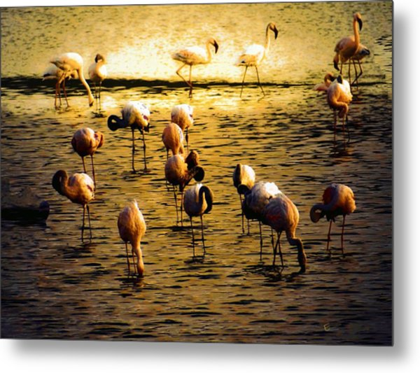 Timeless Peace Metal Print by Ernestine Manowarda