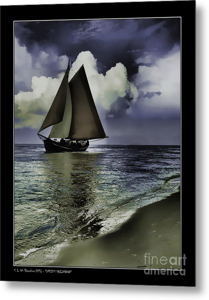 Timeless Sailingboat Metal Print