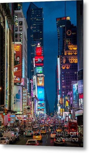 Times Square I Metal Print