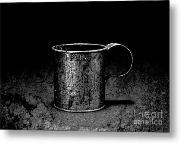 Tin Cup Chalice Metal Print