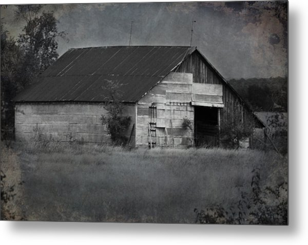 Tin Top Metal Print