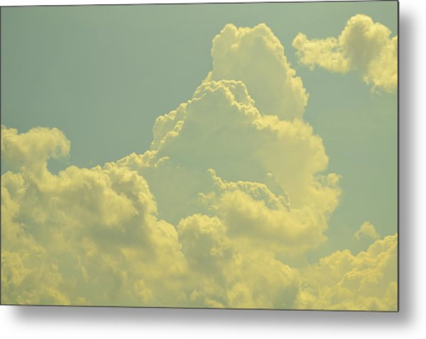 Tinted Cloud Metal Print by Kiros Berhane