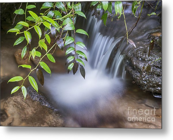 Tiny Waterfall Metal Print