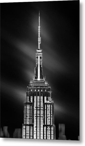 Tip Of The World Metal Print
