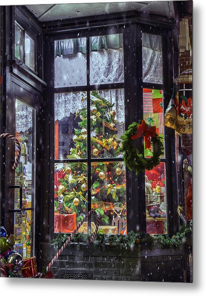 Metal Print featuring the photograph Tis The Season by David Hufstader
