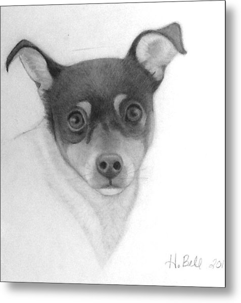 Tizzy Metal Print by Holly Bell