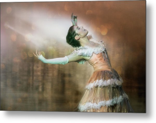 To Dance Metal Print by Charlaine Gerber