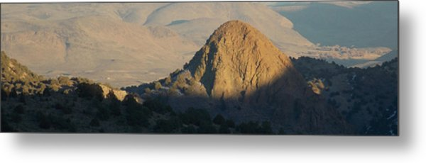 To The End Of Nevada Metal Print