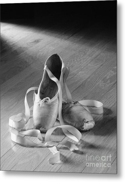 Toe Shoes Metal Print