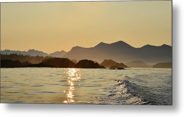 Tofino Morning On The Pacific Ocean Metal Print by Jan Lyall Photography
