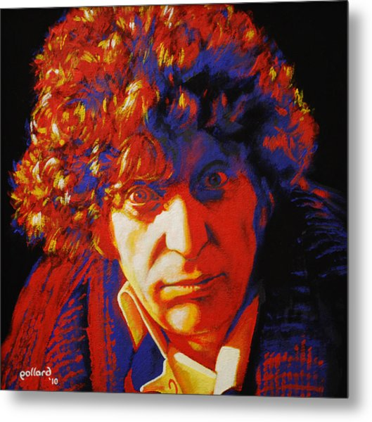 Tom Baker Metal Print