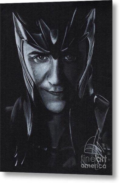 Tom Hiddleston Metal Print by Rosalinda Markle