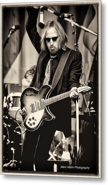 Tom Petty Metal Print