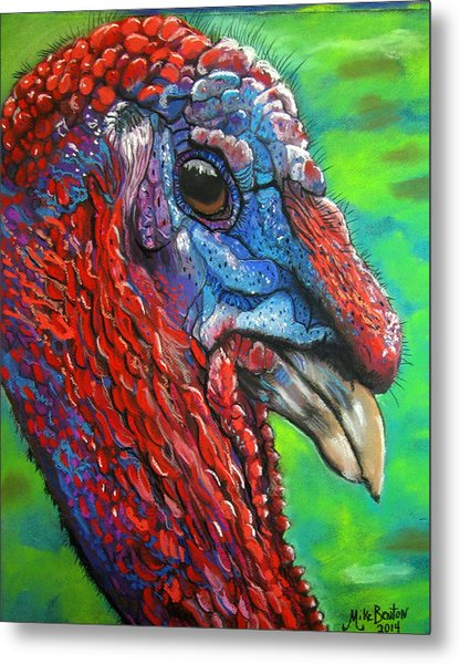 Tom Turkey Metal Print