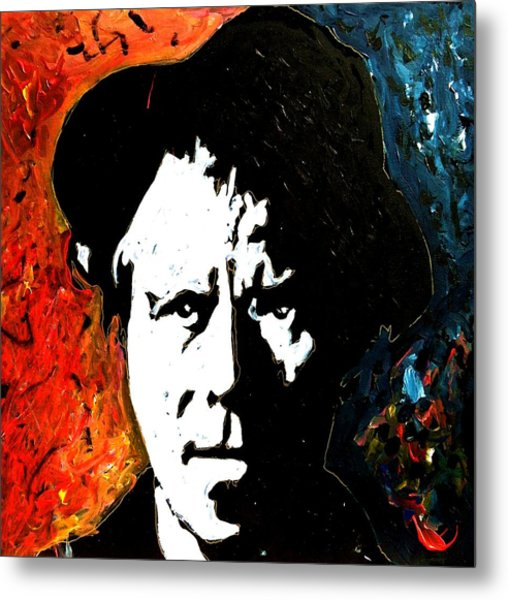 Tom Waits Metal Print