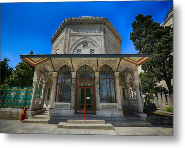 Tomb Of Suleiman The Magnificent Metal Print