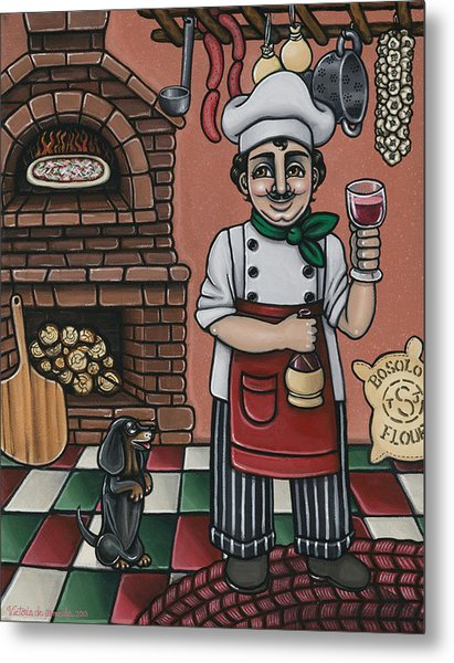Tommys Italian Kitchen Metal Print