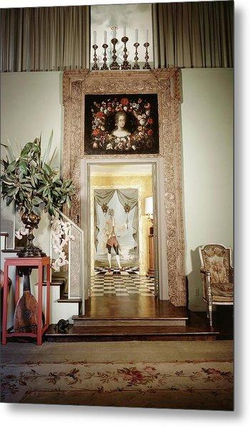 Tony Duquette's Entrance Hall Metal Print