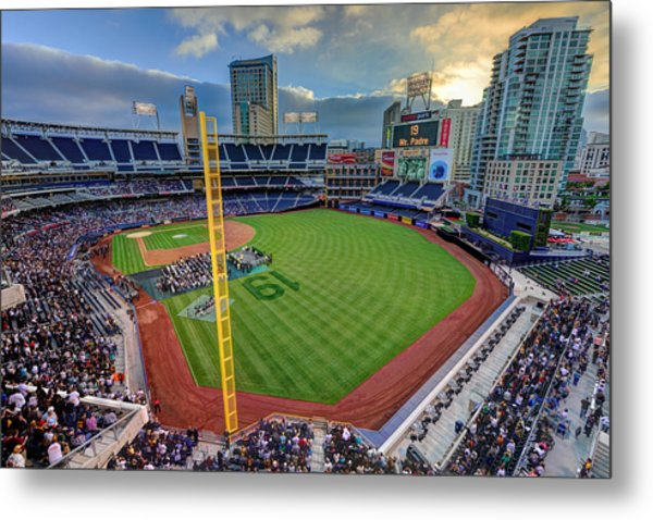 Tony Gwynn Tribute At Petco Park Metal Print