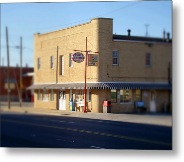 Tony's Ice Cream Metal Print