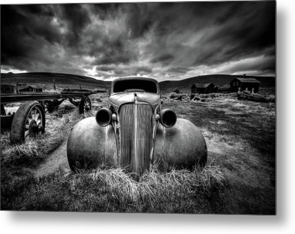 Too Old To Drive Metal Print by Carsten Schlipf