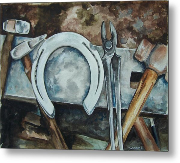 Tools Of The Trade Metal Print