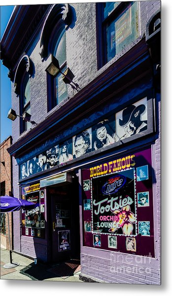 Tootsies Nashville Tennessee Metal Print
