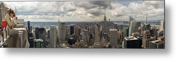 Top Of The Rock View Metal Print