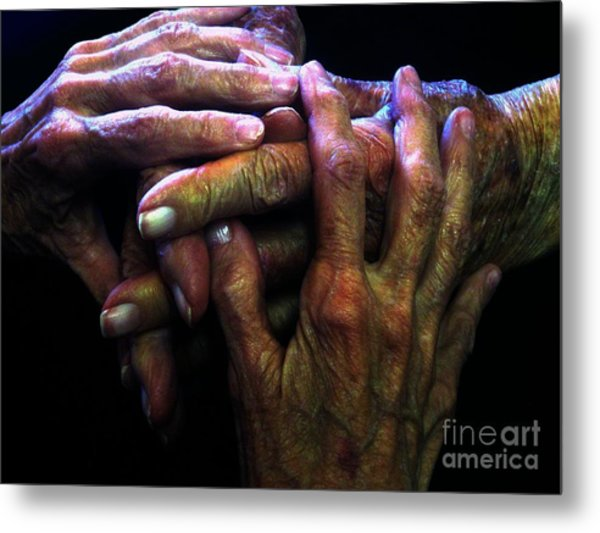 Top2generations Metal Print
