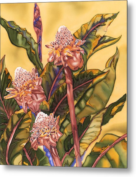 Torch Ginger Metal Print