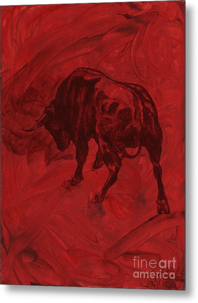Toro Painting Metal Print