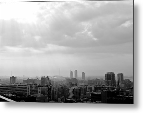 Toronto Metal Print by BandC  Photography