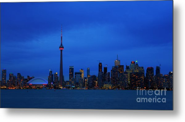Toronto Blues... Metal Print