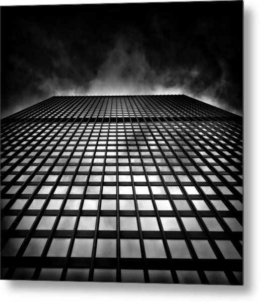 Metal Print featuring the photograph Toronto Dominion Centre No 79 Wellington St W by Brian Carson