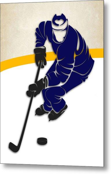 Toronto Maple Leafs Rink Metal Print