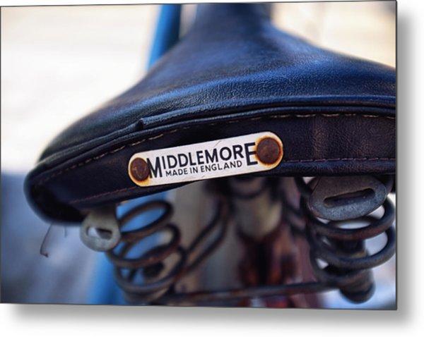Toronto Middlemore Bike Seat Metal Print by Tanya Harrison