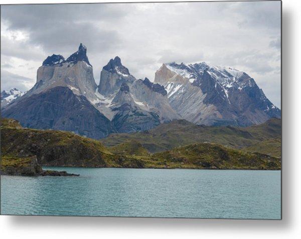 Torres Del Paine Metal Print by Eric Dewar