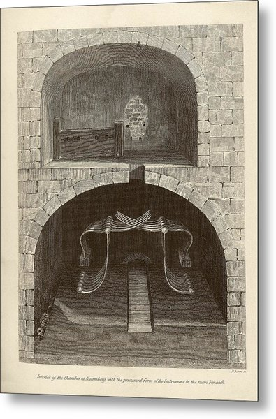 Torture Chambers Metal Print by Middle Temple Library