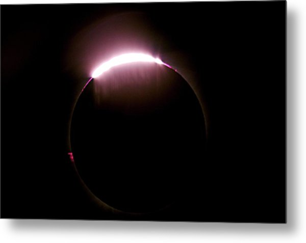 Total Solar Eclipse Metal Print by Don Sabers/rev. Ronald Royer/science Photo Library