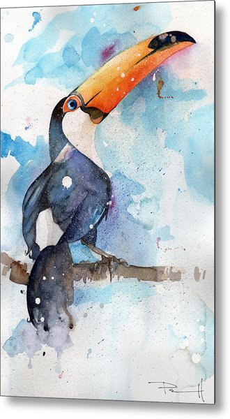 Toucan Sam Metal Print