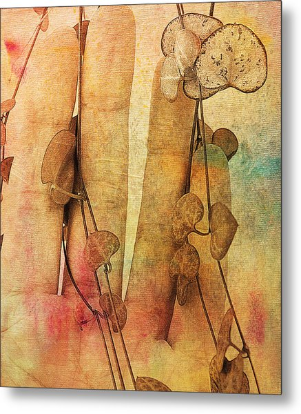 Touch Me Soft Metal Print