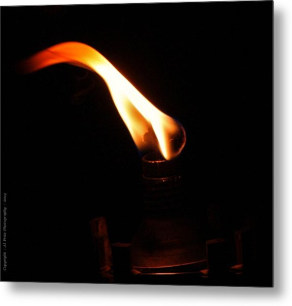 Touch Of Light Metal Print by Al Fritz