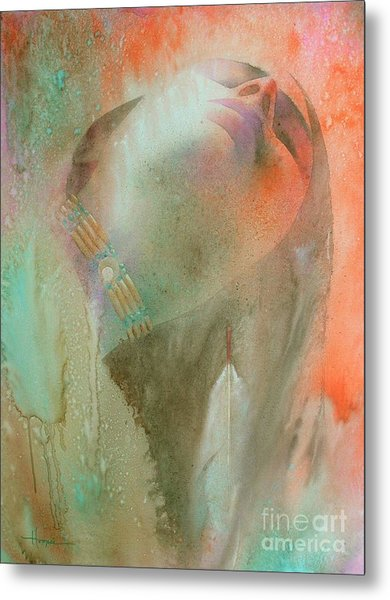 Touch Of The Rainbow Metal Print by Robert Hooper