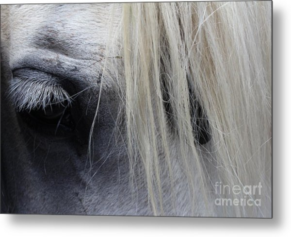 Touched My Heart Metal Print