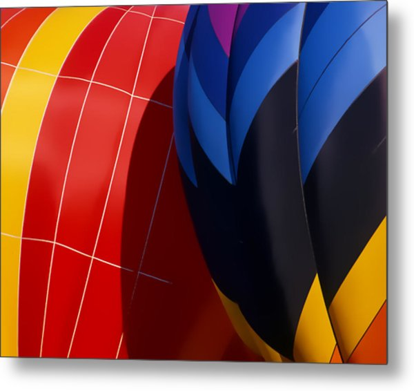 Touching Metal Print by Ken Evans