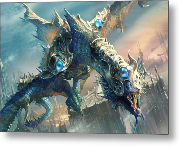 Tower Drake Metal Print